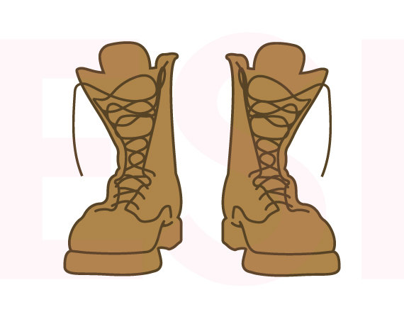 570x450 Army Clipart Army Boots