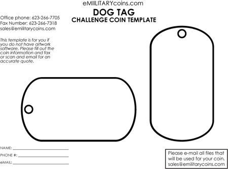 450x333 Editable Dog Tag Clipart