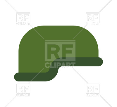 400x364 Military Helmet Isolated Vector Image Vector Artwork Of Icons