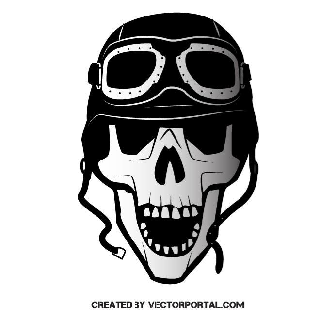 660x660 Skull In Military Helmet Vector