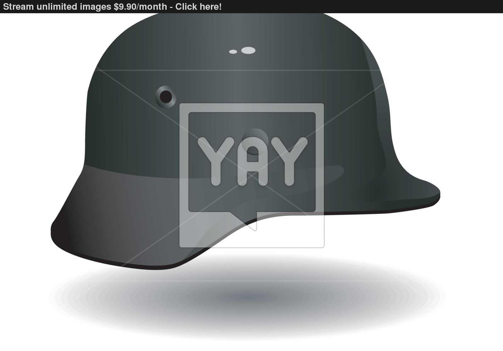 1600x1118 Vector German Military Helmet Vector