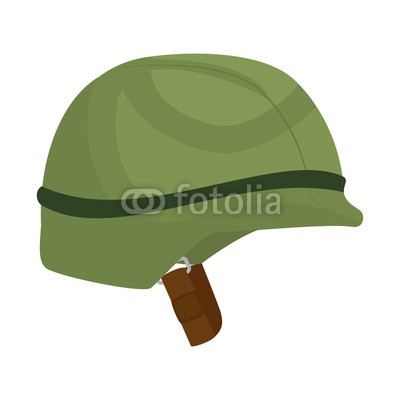 400x400 Military Helmet War Icon Vector Illustration Design Buy Photos