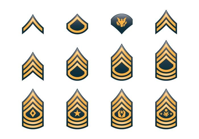 700x490 Army Rank Insignia
