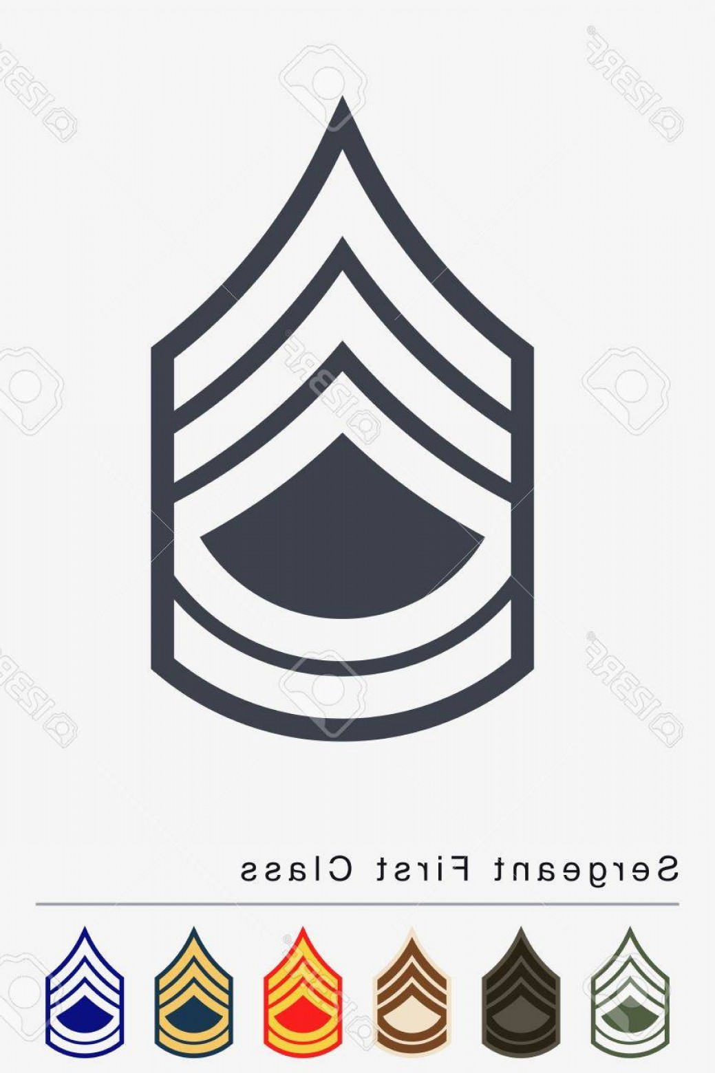 1039x1560 Photostock Vector Military Ranks And Insignia Stripes And Chevrons