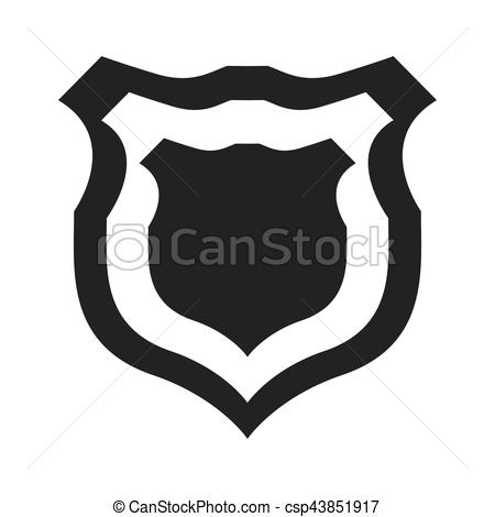 450x470 Shield Protection Insignia Security Military Icon Vector