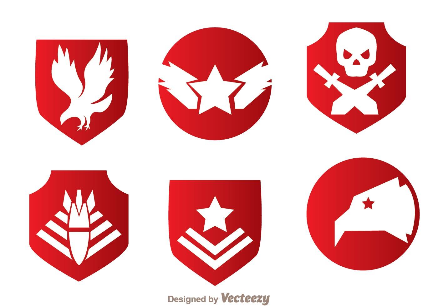 1400x980 Military Logo Free Vector Art
