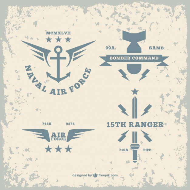 626x626 Army Logos Pack Vector Free Download