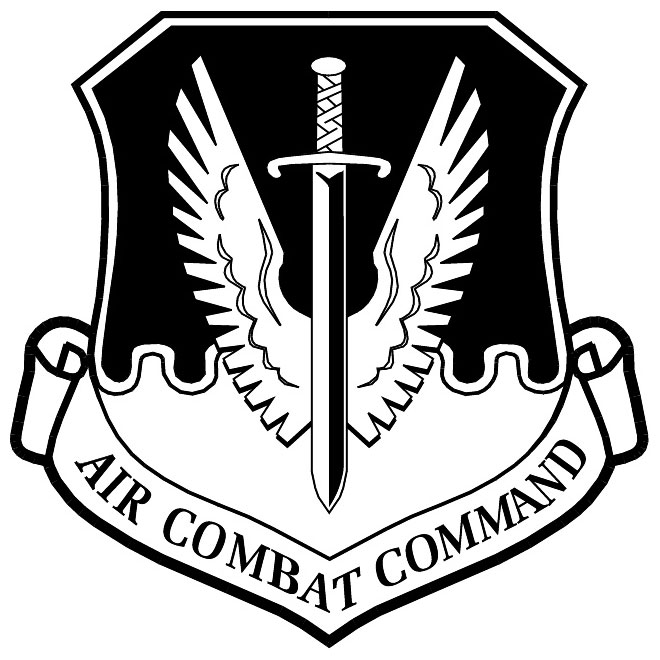 660x660 Military Emblem Of Air Combat Command