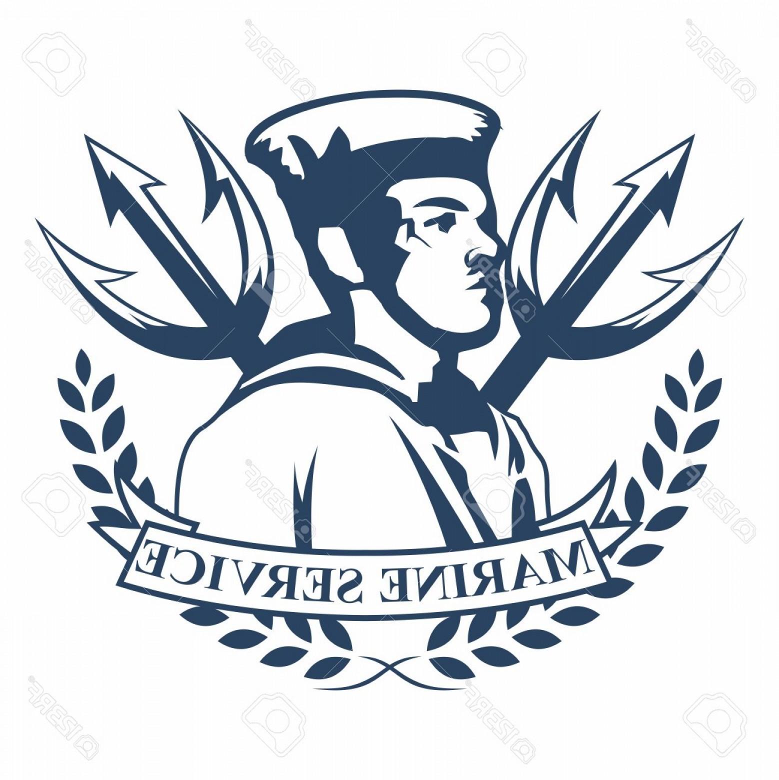 1558x1560 Photostock Vector Vector Retro Logo Badges Of Navy Marine Military