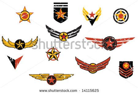 450x307 Military Emblems Vector