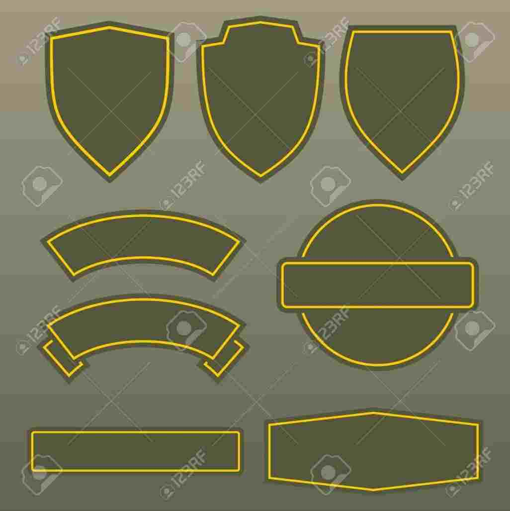 1026x1027 Military Patch Template Template Designs And Ideas
