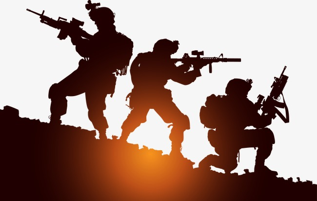 650x412 Vector Soldier, Soldier, Military Training, Vector Png And Vector