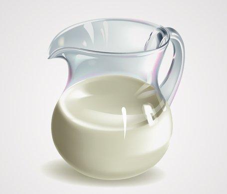 455x388 Free Realistic 3d Milk Jugjar Vector Graphics (Free) Clipart And