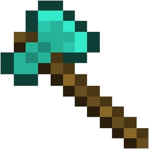 300x300 Minecraft Diamond Sword Clipart Free Images