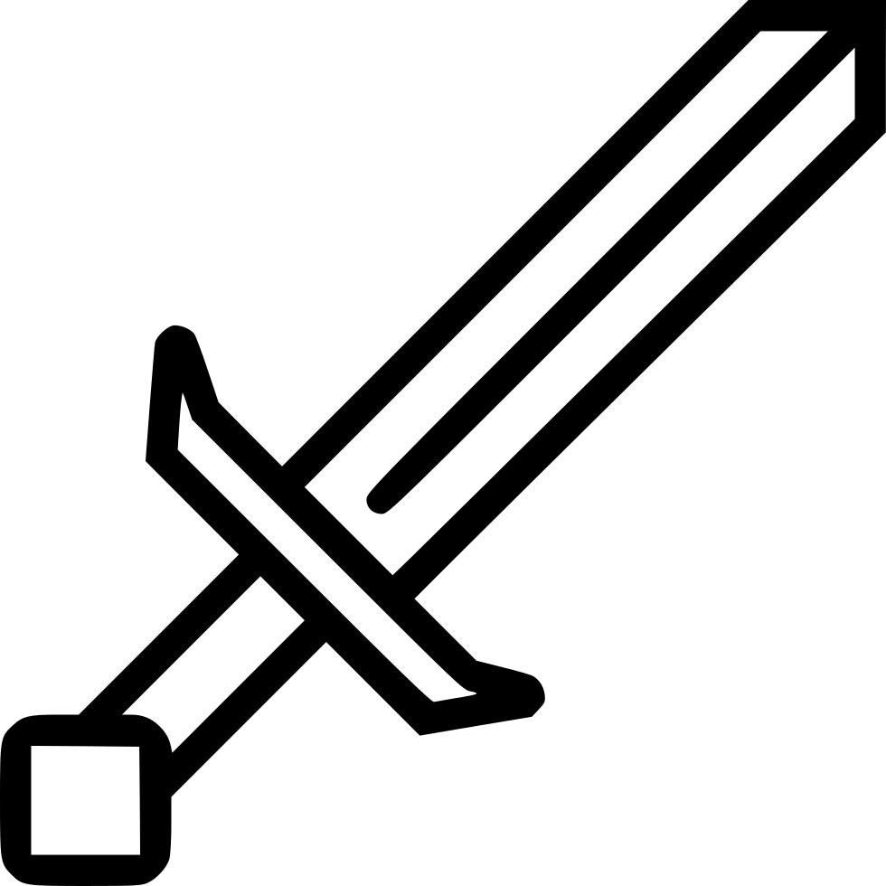 980x980 19 Sword Svg Minecraft Huge Freebie! Download For Powerpoint