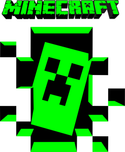 246x300 Minecraft Logo Vector (.cdr) Free Download