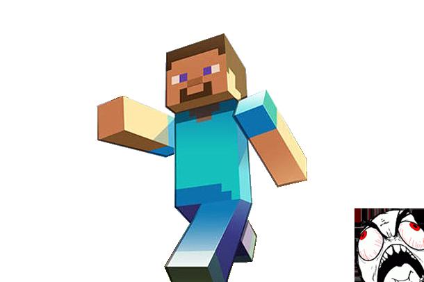 610x406 19 Minecraft Vector Huge Freebie! Download For Powerpoint