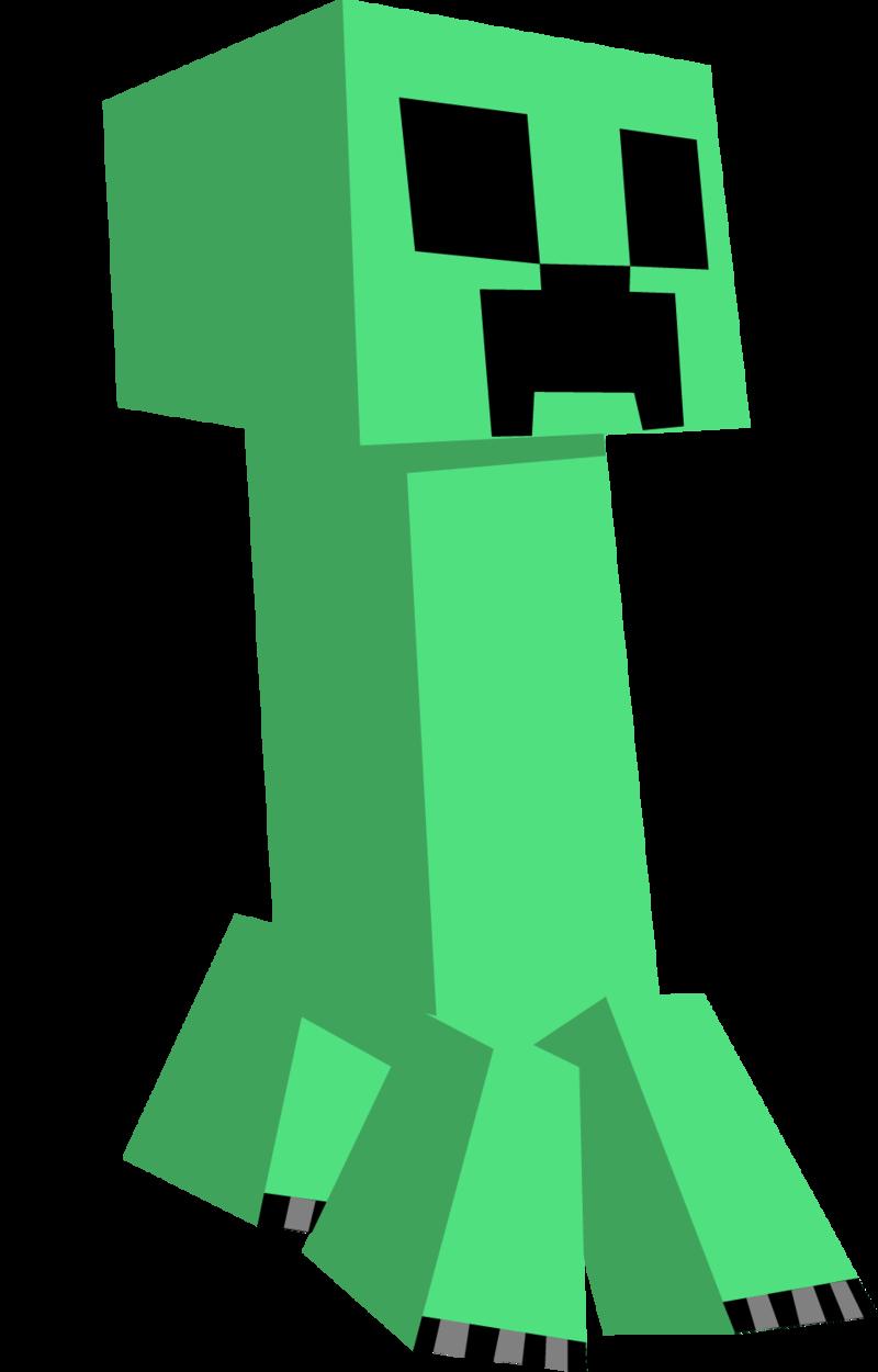 800x1250 Minecraft Vector