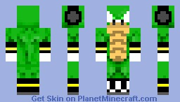 256x146 Vector The Crocodile Minecraft Skin