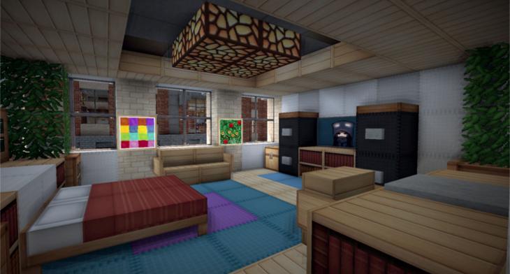 730x392 Minecraft Bedroom Designs, Decorating Ideas Design Trends