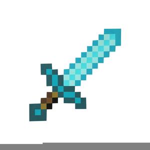 300x300 Diamond Sword Minecraft Free Images