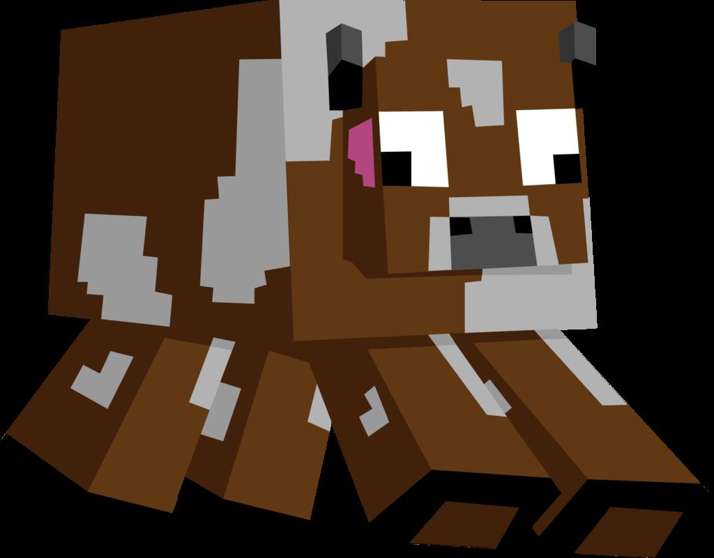 1024x801 Minecraft Cow By Toajahli