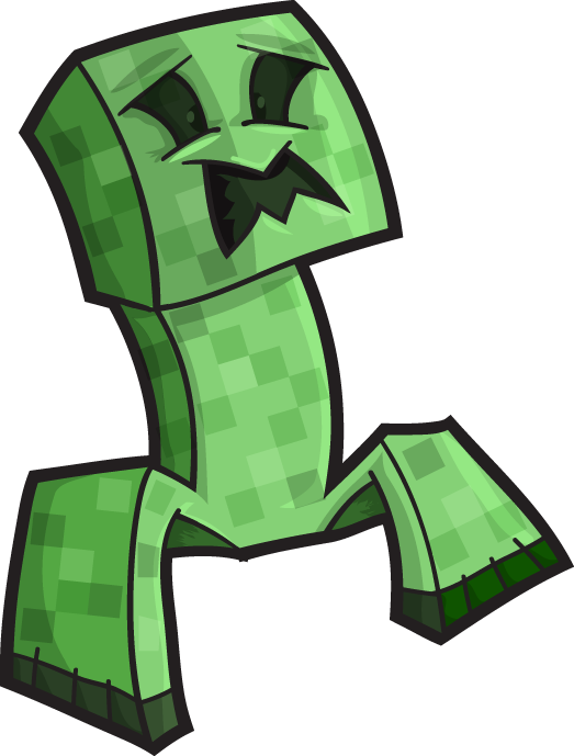 523x689 Minecraft Vector Blocks And Creeper Boomrocker