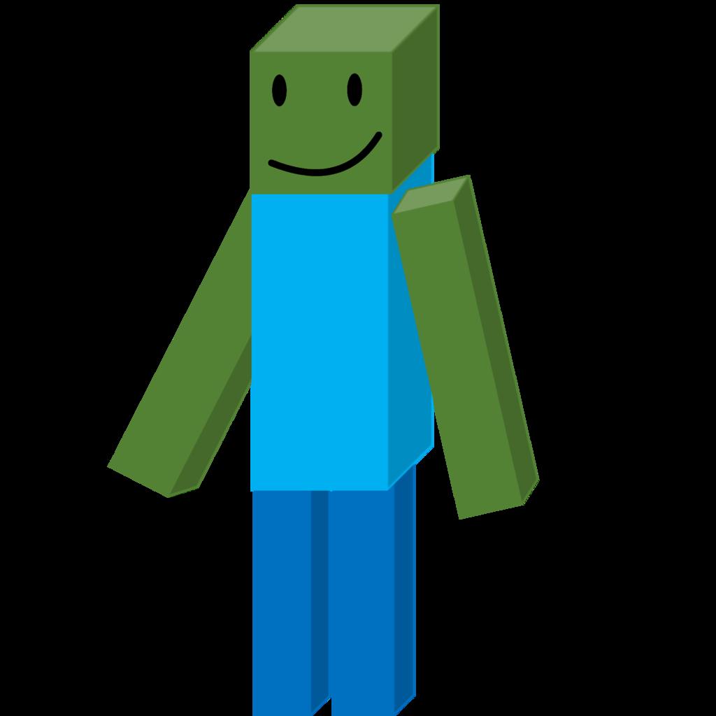 1024x1024 Minecraft Zombie By Brownpen0