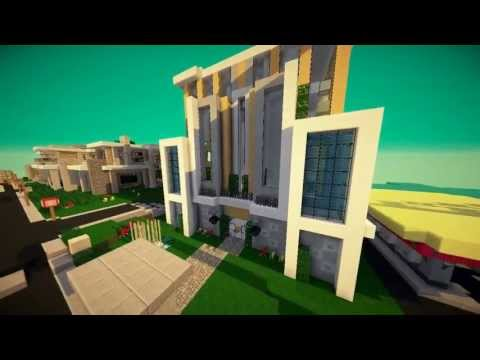 480x360 Small Modern City Minecraft Project, Modern Small House Home