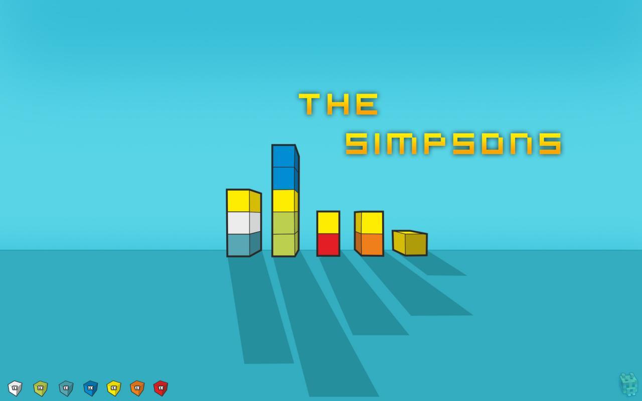 1280x800 The Minecraft Simpsons