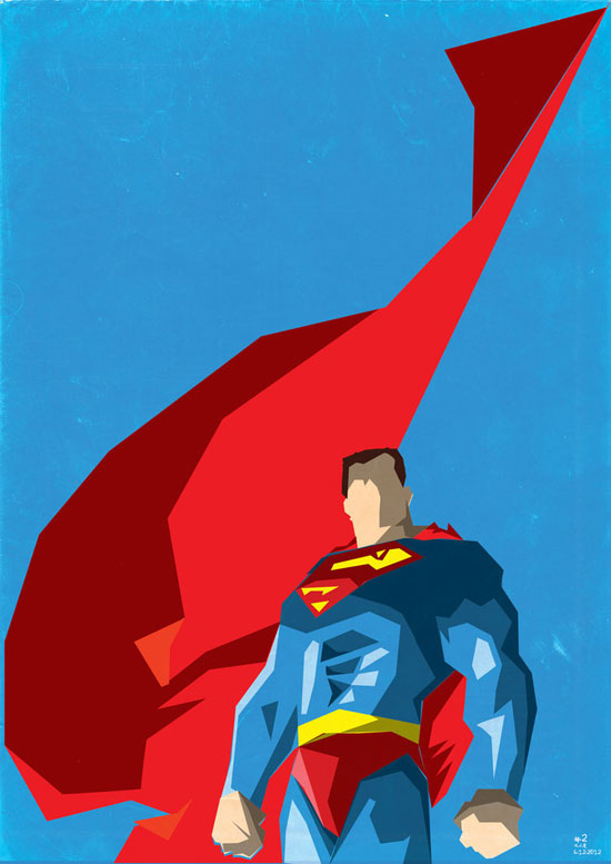 550x777 Collection Of Vector Posters With Superheroes And Villains