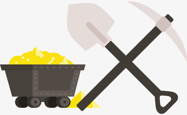 650x400 Mining Vector, Gold Mine, Shovel, Carts Png And Vector For Free