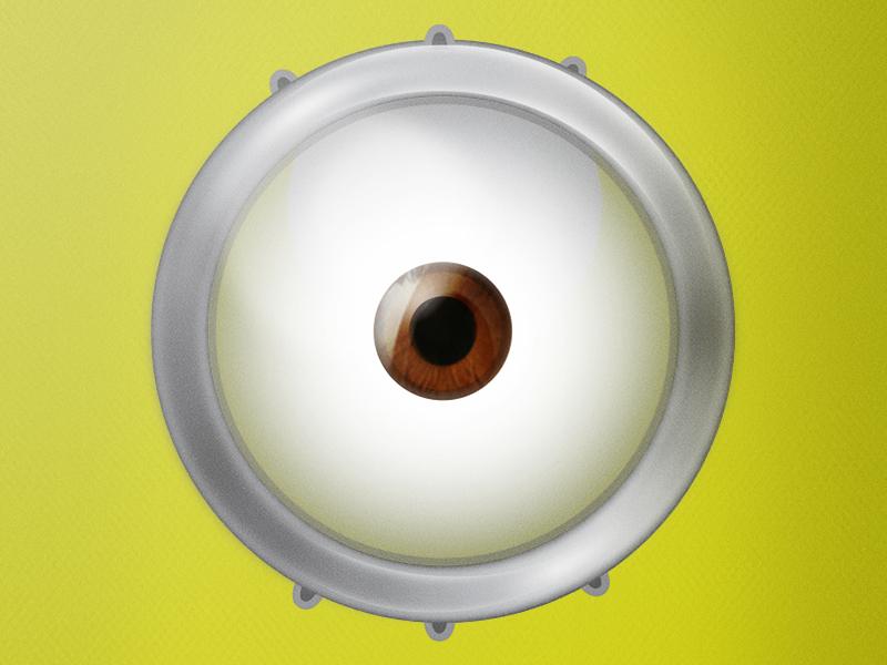 800x600 Minion Eyes Clipart