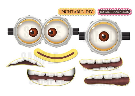 570x406 Minions Clipart Mouth Cute Borders, Vectors, Animated, Black And
