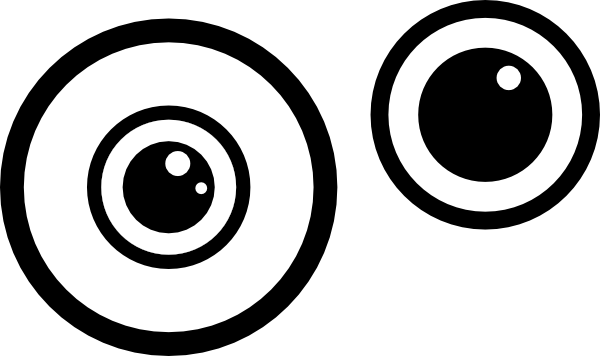 photo about Free Printable Minion Eyes titled Minions Eyes Vector at  Cost-free for unique
