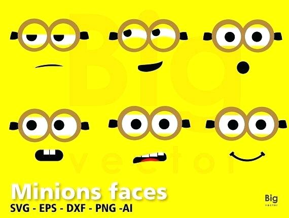 graphic regarding Free Printable Minion Eyes identify Minions Eyes Vector at  No cost for unique