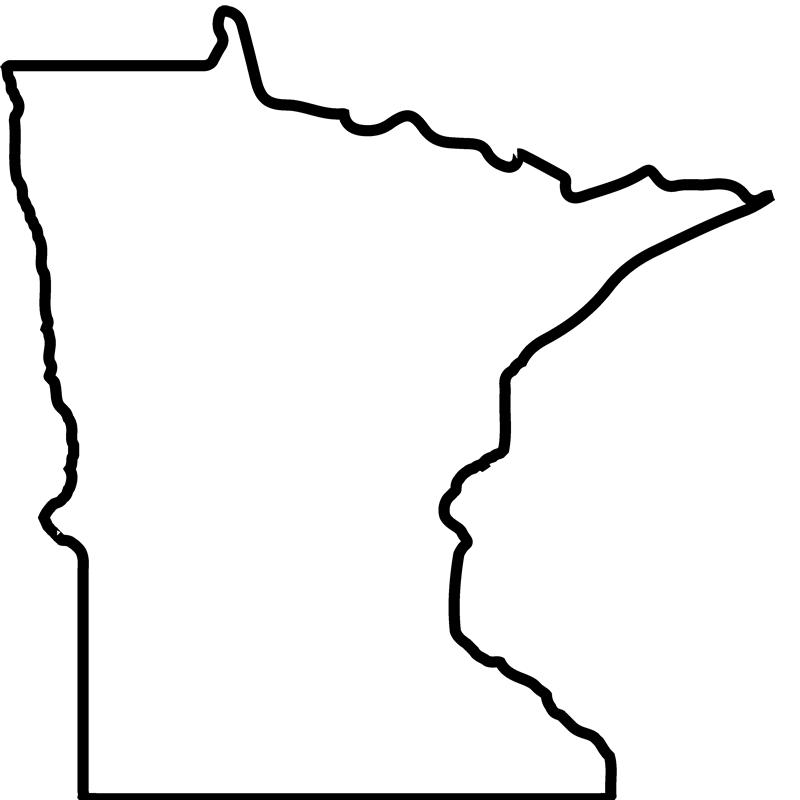 Minnesota Outline Vector
