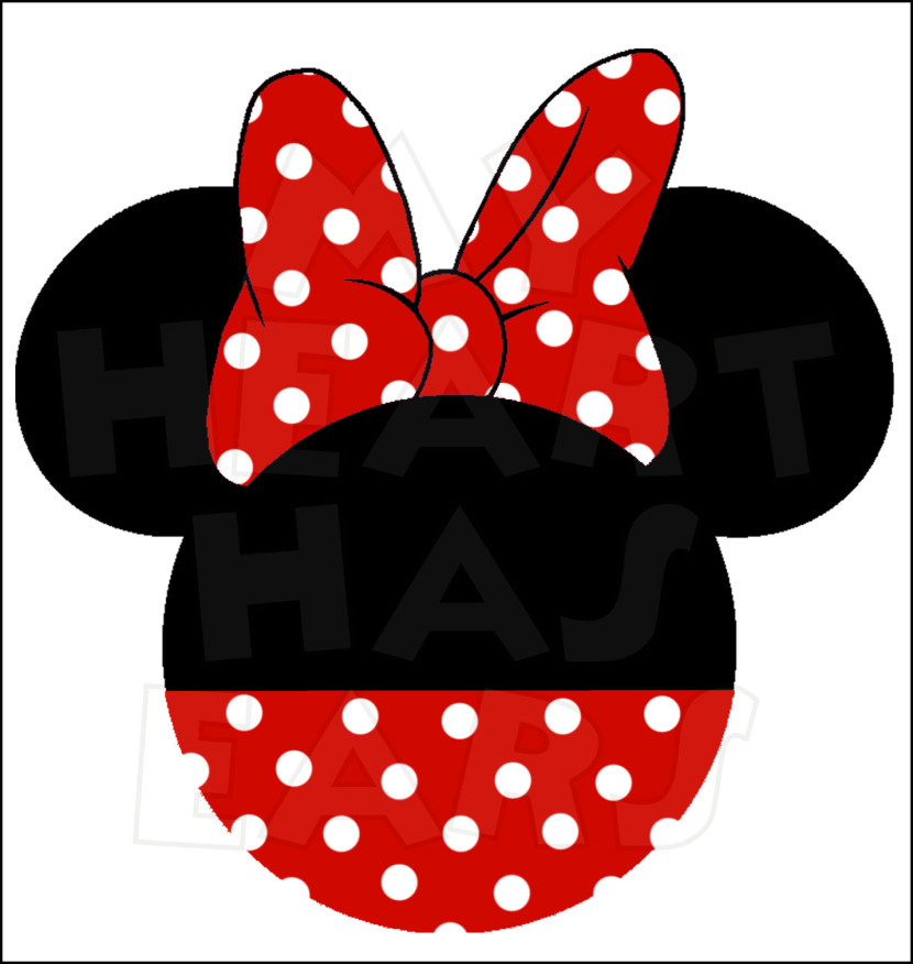 830x876 Minnie Mouse Head Vector 101 Clip Art