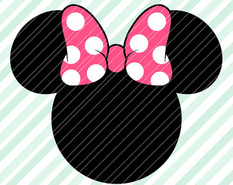 340x270 Pink Hair Clipart Minnie Mouse 2nd Birthday