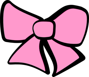 299x261 Pink Minnie Mouse Bow Vector