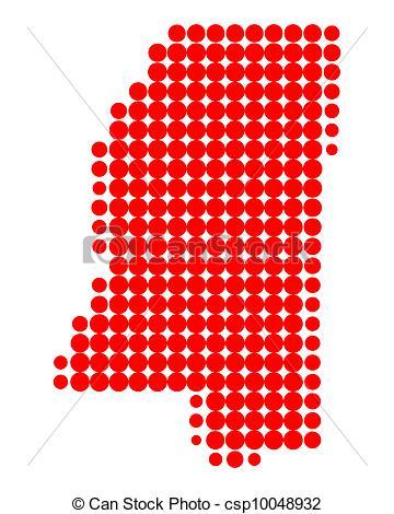 360x470 Map Of Mississippi Vectors