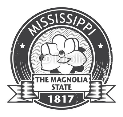 400x380 Stamp With Name Of Mississippi, Vector Illustration Buy Photos