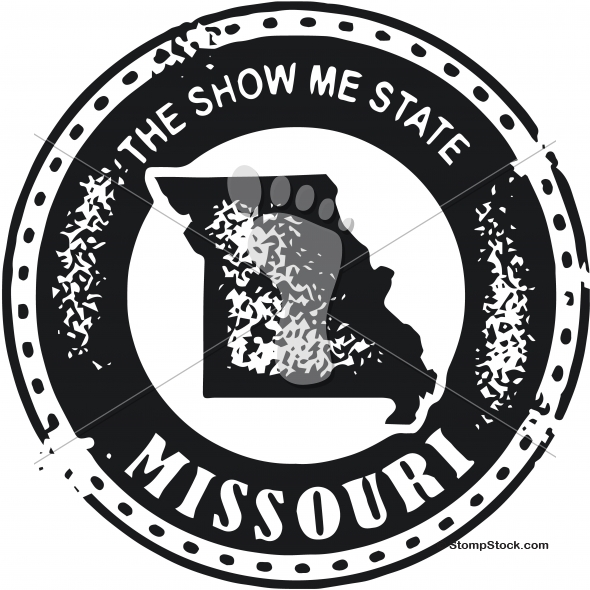 590x590 Vintage Missouri Usa State Stamp