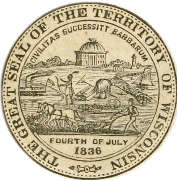 576x586 Wisconsin State Seal