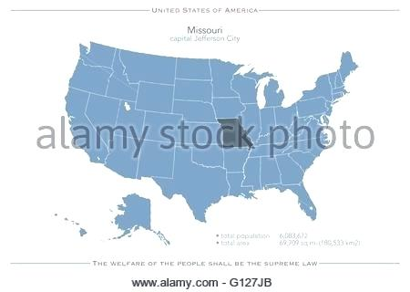 450x320 United States Of Isolated Map And State Territory Vector Political