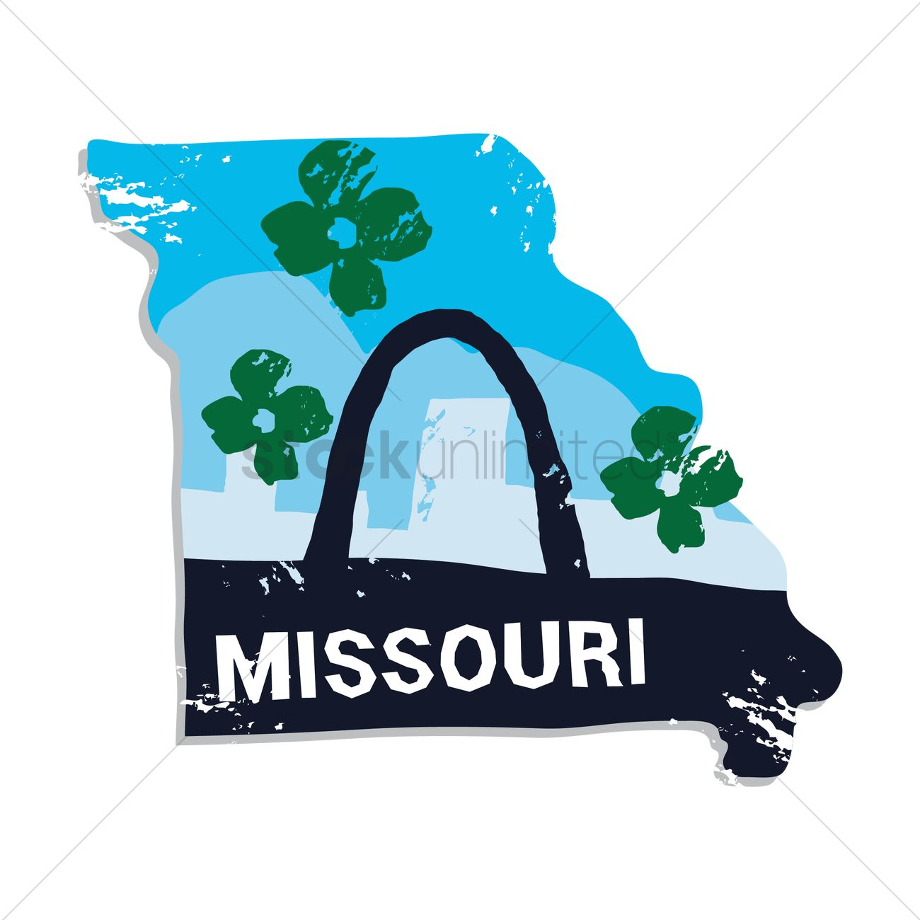 1300x1300 Free Missouri State Vector Image