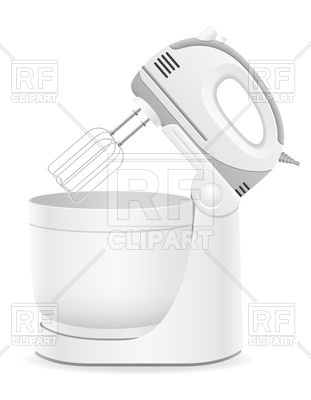 311x400 Open Kitchen Mixer Vector Image Vector Artwork Of Objects