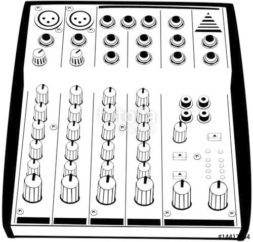 500x479 Mixer Vector Stock Image And Royalty Free Vector Files On Fotolia