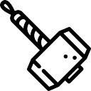 128x128 Mjolnir Vectors, Photos And Psd Files Free Download