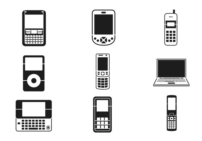 700x490 Mobile Device Vector Pack